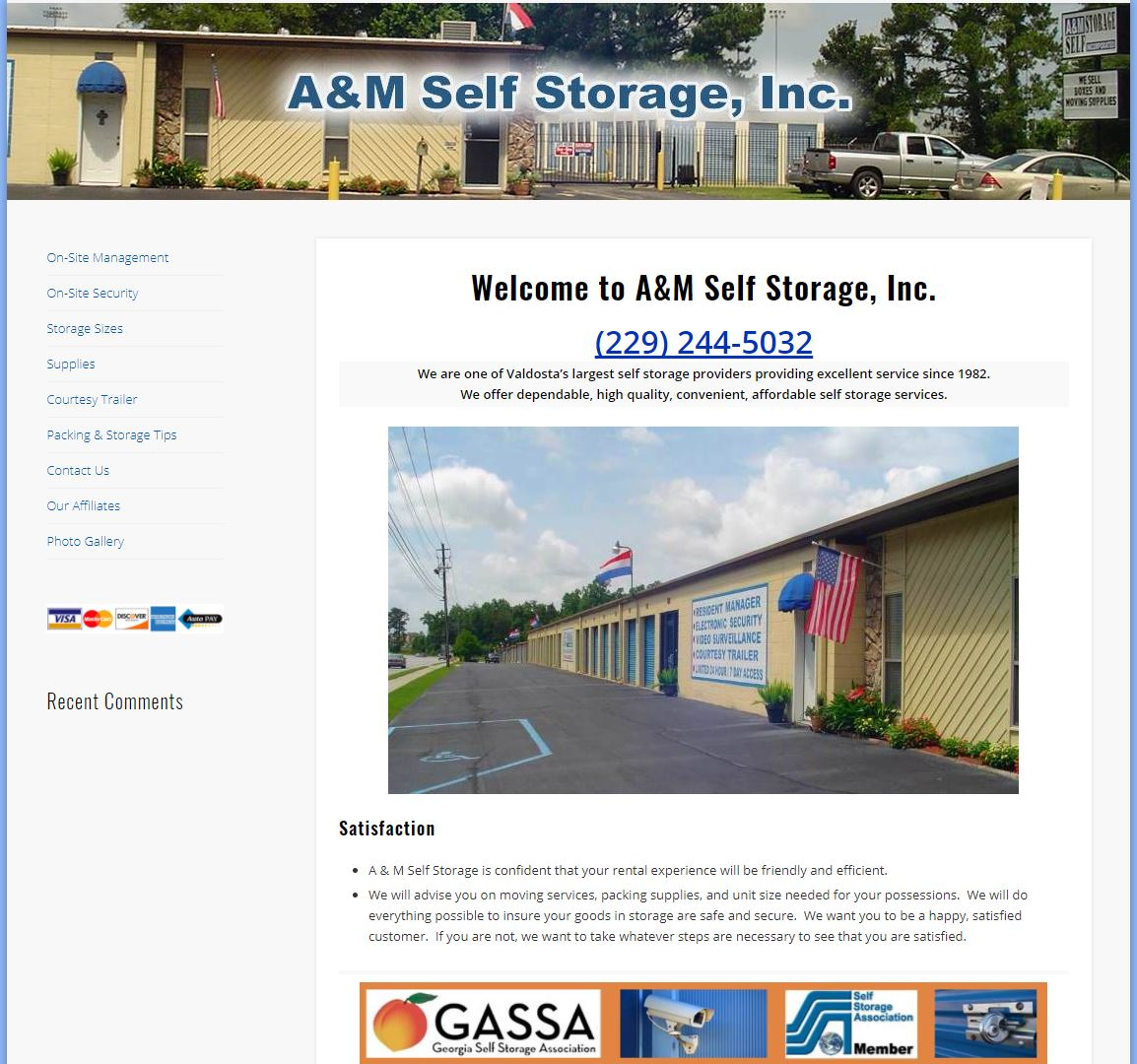 A And M Self Storage